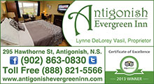 Antigonish Evergreen Inn