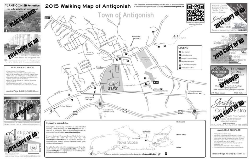 2015 Walking Map Pages 4-5